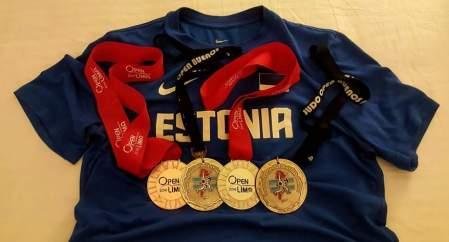 Kahelt Lõuna-Ameerika MK-etapilt Eestile 4 medalit