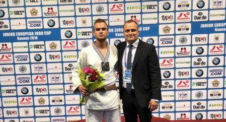 Pärt Laas võitis Kaunase EK-etapil hõbemedali!