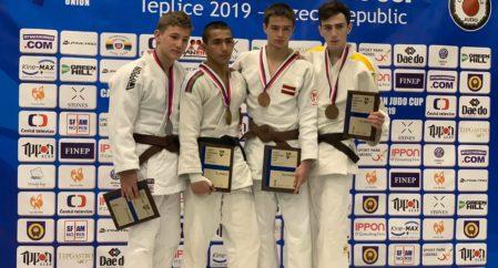 Viljar Lipard võitis judo Euroopa karikaetapil hõbeda