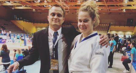 Annika Karilaid võitis judo Euroopa karikaetapil pronksi