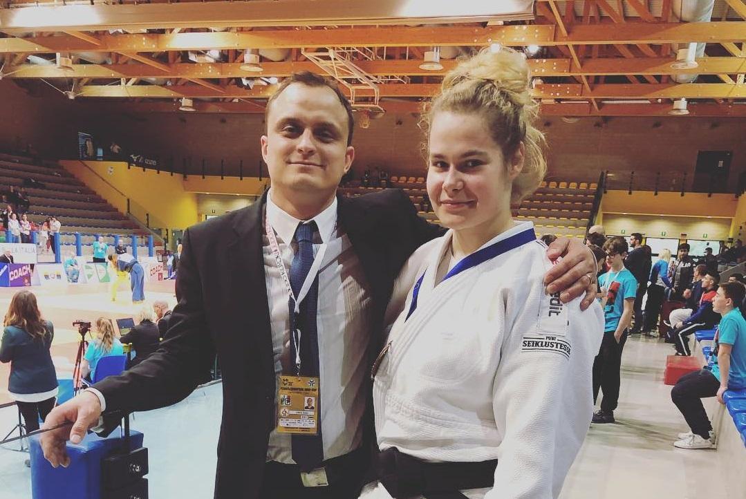 a030ce37873 Nädalavahetusel Itaalias Lignanos toimunud U-21 Euroopa karikaetapil jõudis  Eesti judoka Annika Karilaid kehakaalus -78kg 23 naise konkurentsis  poodiumile.