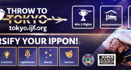 Võida IJF-lt reis Tokyo MM-le