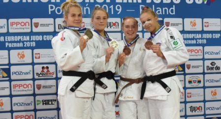 Annika Karilaid judo EK-etapil hõbedal, Eesti judokatel tegusad ajad